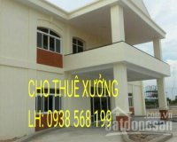 Cho thuê nhà xưởng 1600m2 Hương Lộ 2, Bình Tân. LH 0938568199