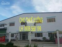 Cho thuê kho xưởng 3800m2 quận bình tân. lh: 0938568199