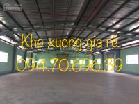 Cho thuê kho xưởng đường Trần Văn Giàu, Bình Tân, DT:10x30, giá:20tr/th. LH: 094.70.696.39