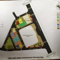 Dự án hot nhất Thái Nguyên Vincom Shophouse, lô góc cực VIP, LH 0918.18.1369