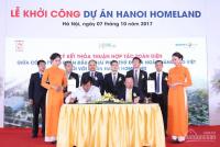 Cc gửi bán lô góc hanoihomeland- long biên. giá hấp dẫn : 0944.22.44.89//0989.580.198