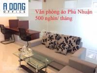 Cho thuê văn phòng ảo quận phú nhuận tòa nhà the prince residence, đường nguyễn văn trỗi, 500 ng/th