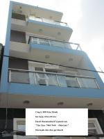 Cho thuê nhà hxh 322 an dương vương, 5m x 25m, trệt - 4 lầu, 40 tr/th. 0913299211