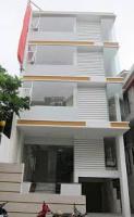 Cho thuê nhà mới xây mặt tiền 57 trần quang diệu, quận 3 dt 5,2x22m, hầm, 7 lầu