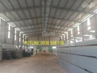 Cho thuê kho 800m2 mặt tiền QL1A, Q. Bình Tân. 0938568199