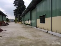 Cho thuê kho quận 9 suối Tiên, hợp đồng ngắn hạn, giá 55.000, DT: 500m2