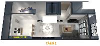 Cho thuê nhà làm nhà hàng, cà phê, phòng khám tại dự án hd mon city 96m2 - 152m2. lh 0916558388