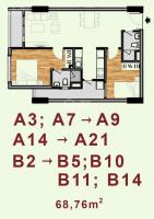 Chuyển công tác cần bán gấp căn 68m2-2pn,2wc tầng đẹp lavita garden, ga metro số 10.lh 0975077700