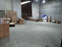 Cho thuê kho xưởng minh khai,vĩnh tuy 42tr 420m2 container 40feet đỗ cổng