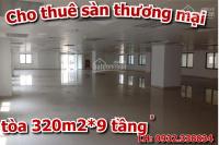 Cho thuê cả tòa nhà tại cầu giấy 320m2 * 9 tầng phường dịch vọng hậu. chi tiết liên hệ 0932.338834