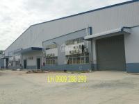 Cho thuê kho xưởng 5000m2 KCN Tân Đô, Đức Hòa, Long An. 0909288293