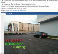 Cho thuê kho 300m2. 500m2,xe công 40f vào được, ở khu công nghiệp vĩnh lộc,giá 80 ngàn /1m2