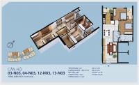 Chính chủ bán căn hộ 2013 n03, vị trí đẹp nhất dự án new horrizon 87 lĩnh nam