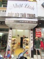 Sang nhượng cửa hàng giày dép nữ số 62 mê linh, lê chân, hải phòng