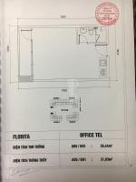 Chính chủ bán gấp lô officetel căn hộ văn phòng dự án Florita Him Lam quận 7, giá 1,035 tỷ