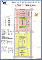 Bán đất dự án phú nhuận, huy hoàng, thủ thiêm, p.thạnh mỹ lợi, q2 - dt 7x18,5m - sổ đỏ - 75 tr/m2