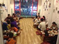 Nhượng nhà hàng lẩu đông khách cực hot, mặt phố trung tâm khu vực thái hà, full đồ. lh: 0936348552