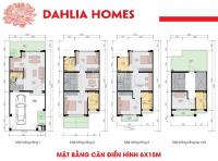 độc quyền gamuda lk st5 dahlia homes diện tích 90m2 từ 85 tỷ đóng 50 nhận nhà 0965 112 171