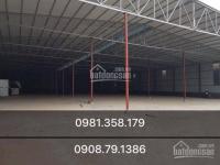 Chính chủ cho thuê kho xưởng 155m2 - 355m2 - 500m2 - 1000m2 tại tân lập hoài đức hà nội.