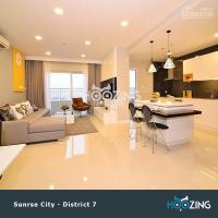 Hoozing dịch vụ chuyên cho thuê các chung cư cao cấp quận 7: sunraise city, miễn phí dịch vụ