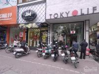 Cho thuê cửa hàng MP Chùa Bộc dt 50mx5t, mt 3,6m giá 80tr/th