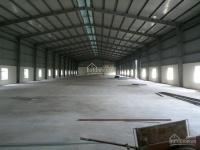 Cho thuê kho xưởng 4100m2 trong kcn tân đức, đức hòa, long an.