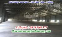Cho thuê kho xưởng bình dương, 600m2, 900m2, 1200m2, 2.000m2, 3000m2, 4000m2... 0938949373