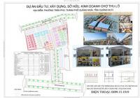 Shophouse, Kiot kinh doanh chợ Thu Lộ, thành phố Quảng Ngãi