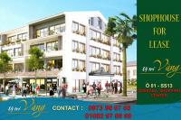 Cho thuê shophouse làm nhà hàng dự án sonasea villas & resort ceo phú quốc, vị trí đắc địa