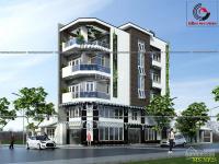 Cho thuê nhà mặt phố Hoàng Đạo Thúy lô góc 300m2, 5 tầng, mặt tiền: 20m