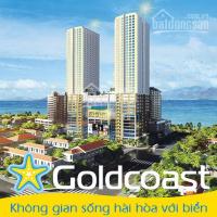 Bán gold coast nha trang 2pn trực diện biển,từ chủ đầu tư, tặng chuyến du lịch 20tr. lh: 0899789303