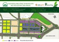 Chính chủ bán đât nền 10x20m dự án piania city sân bay nha trang cl4: 33, 34. miễn trung gian