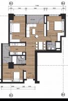 Chính chủ cần bán căn hộ cc n01t3 ngoại giao đoàn căn: 2102, dt 109m2, 3pn, 2vs giá 26tr/m2
