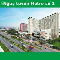 Hot, duy nhất 3 căn 3PN dự án Sài Gòn Gateway, hướng Đông Nam, sở hữu vĩnh viễn, cam kết sổ hồng