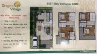 chính chủ chuyển nhượng lô a40 view công viên dragon village thỏa thuận dt 6x15m lh 0906234169
