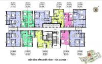 chính chủ nhượng căn jasmine 1 lầu 16 view bể bơi diện tích 60m2 1pn và 1p đa năng lh 0906234169