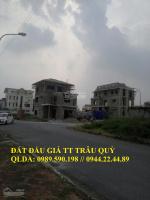 chính chủ cần nhượng lại căn góc dự án trâu quỳ 31ha diện tích 10075m2 lh 0944224489