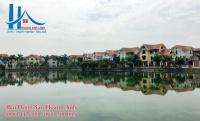 bán biệt thự đơn lập mặt hồ khu đô thị thiên đường bảo sơn dt 380m2 xây thô 35 tầng