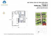 bán gấp căn hộ 2pn 634m2 times city park hill 23 tỷ bao phí
