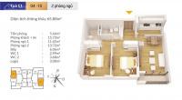 căn góc 3 phòng ngủ dự án c1 c2 xuân đỉnh chỉ 21 tỷ nội thất hoàn thiện