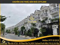 gold link cho thuê nhà nguyên căn trong khu dân cư cityland center hills trung tâm gò vấp