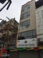 cho thuê nhà mặt phố trung hòa diện tích 140m2 xây dựng 5 tầng mặt tiền 6m hè 5m
