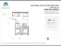 gia đình cần bán căn hộ thông minh 2pn 78m2 tại p9 park hill premium giá 31 tỷ bao phí