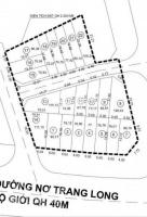 bán gấp 20 lô đất mt nơ trang long gần ubnd phường 13 tt chỉ 899trnền shr lh 0938513545