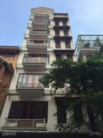 mặt tiền 8m rộng 75m2 x 8 tầng mặt phố thái hà cho thuê có thang máy thông sàn