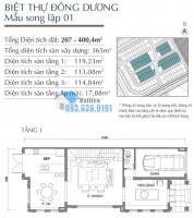 cần bán căn biệt thự khu vinhomes harmony 193m2 nhận nhà ngay
