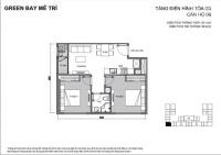 bán chuyển nhượng căn hộ 2 pn 1 wc tòa g3 dự án vinhome green bay mễ trì lh 0929137497