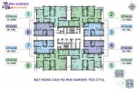 chính chủ bán gấp cc iris garden căn 1203 60m2 toà ct1a view đẹp giá cắt l 18 tỷ lh 0901798296