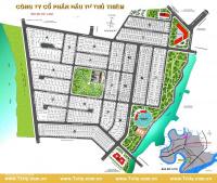bán đất dự án huy hoàng phú nhuận thế kỉ 21 villa thủ thiêm sổ đỏ giá từ 45trm2