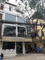 cửa hàng mặt phố trung kính dt 85m2 x 3 tầng thông sàn thang máy